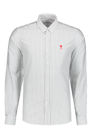 Front view image of AMI Men's Chemise Col Boutonne