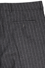 Back pocket detail image of AMI Men's Pantalon Taille Haute