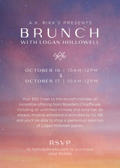 A.K. Rikk's Presents Brunch With Logan Hollowell Ticket