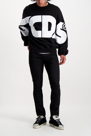 Full Body Image Of GCDS Huge Crewneck