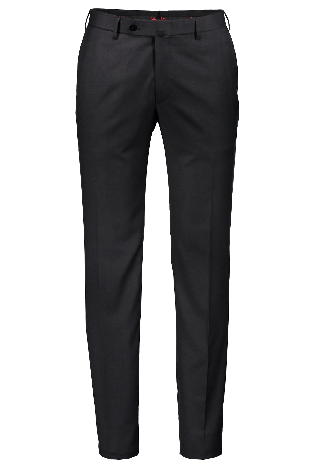 Front Image Of Isaia Trouser Dark Grey