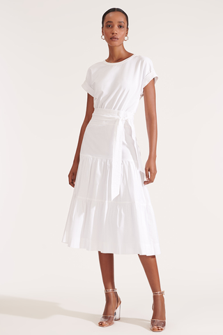 Trail Dress White