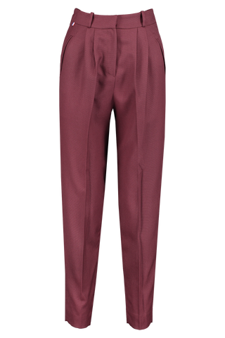 Front Image Of Les Garconnes Jane Wool Trouser