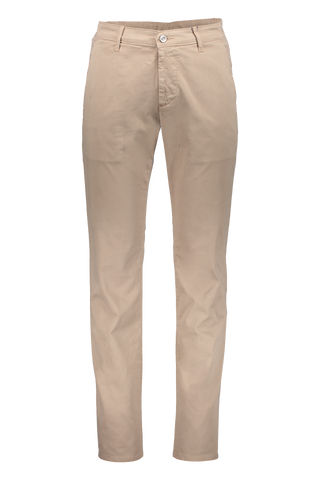 Front Image Of AG Lux Khaki Chino Wheat