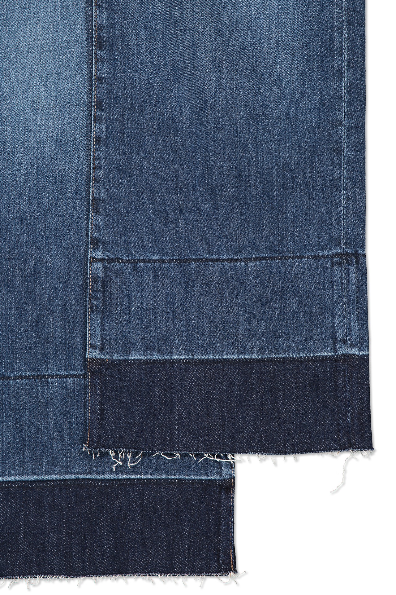 Hemline detail image of AG Women's Etta Denim Blue Glory