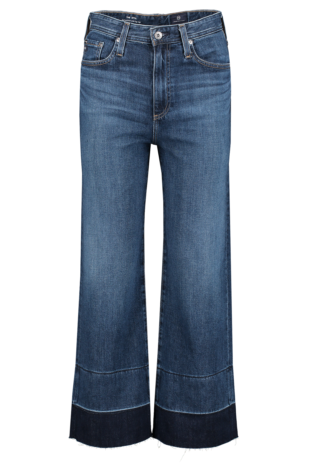 Front image of AG Women's Etta Denim Blue Glory