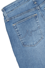 Back pocket detail image of AG Women's Farrah Skinny Ankle Jeans Precision