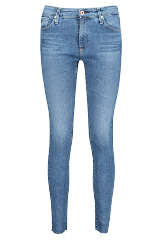 Front view image of AG Women's Farrah Skinny Ankle Jeans Precision