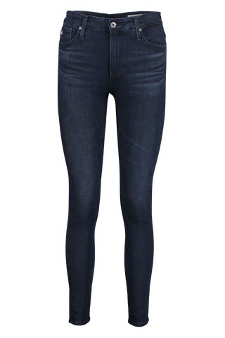 Front view image of AG Women's Farrah Skinny Ankle Jeans Indigo Excess
