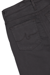 Back pocket detail image of AG Women's Farrah Skinny Ankle Jeans Shark Grey