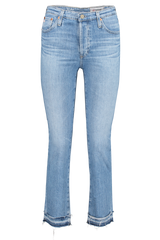 Front image of AG Women's Isabelle Denim 22 Years Blue Solstice
