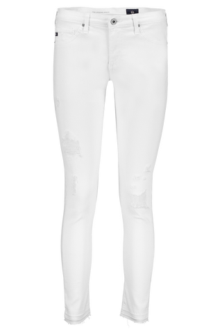 STK LEGGING ANKLE WHITE