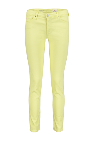 Front view image of AG Prima Ankle Lime Green