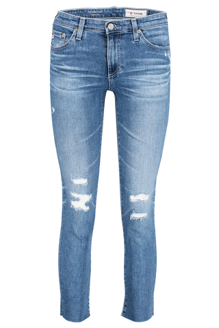 Front Image Of AG Prima Crop Jeans