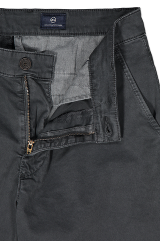 Front Zipper Closure Detail Griffin Short