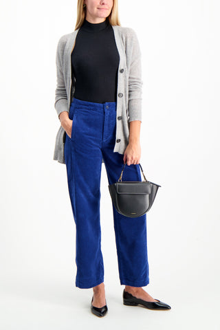 Full Body Image Of Model Wearing AG Women's Tomas Trouser