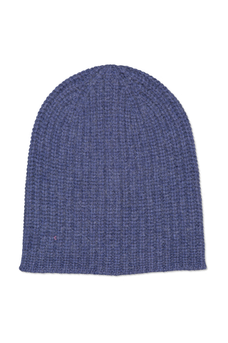 Image of Alex Mill Cashmere Solid Beanie Blue