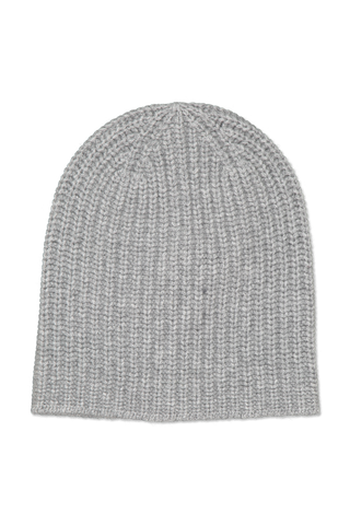 Image of Alex Mill Cashmere Solid Beanie Light Heather