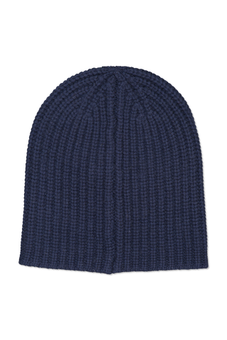 Image of Alex Mill Cashmere Solid Beanie Navy