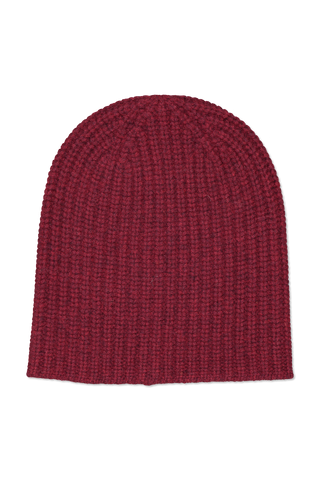 Image of Alex Mill Cashmere Solid Beanie Shiraz
