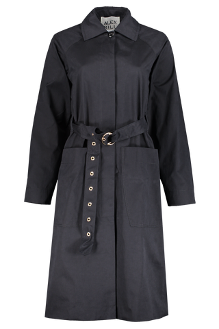 Women's Channel Belted Trench Coat