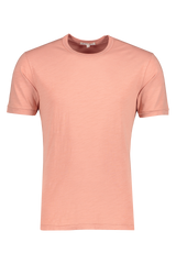 Front image of Alex Mill Men's Short Sleeve Slub Cotton Tee City Pink