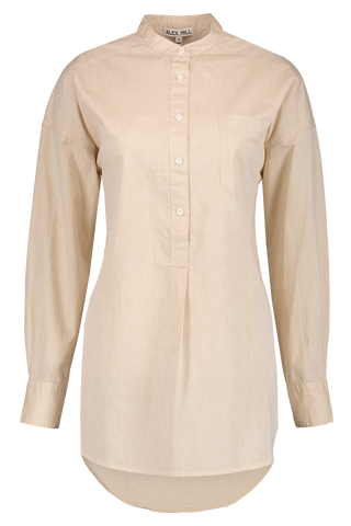 Solid Shore Popover Tunic