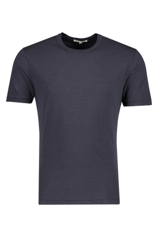 Front image of Alex Mill Men's Standard Slub Cotton Tee Navy