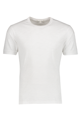Front image of Alex Mill Men's Standard Slub Cotton Tee White