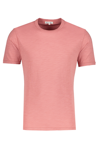 Men's Standard Slub Cotton Tee Dirty Rose