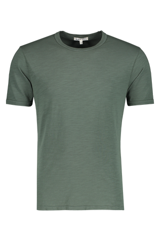 Men's Standard Slub Cotton Tee Faded Spruce
