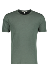 Front view image of Alex Mill Men's Standard Slub Cotton Tee Faded Spruce