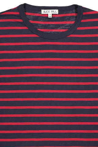 Mariner Long Sleeve Navy Stripe