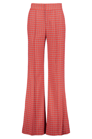 Alice & Olivia Front Image Dylan High Waist Wide Leg Pant