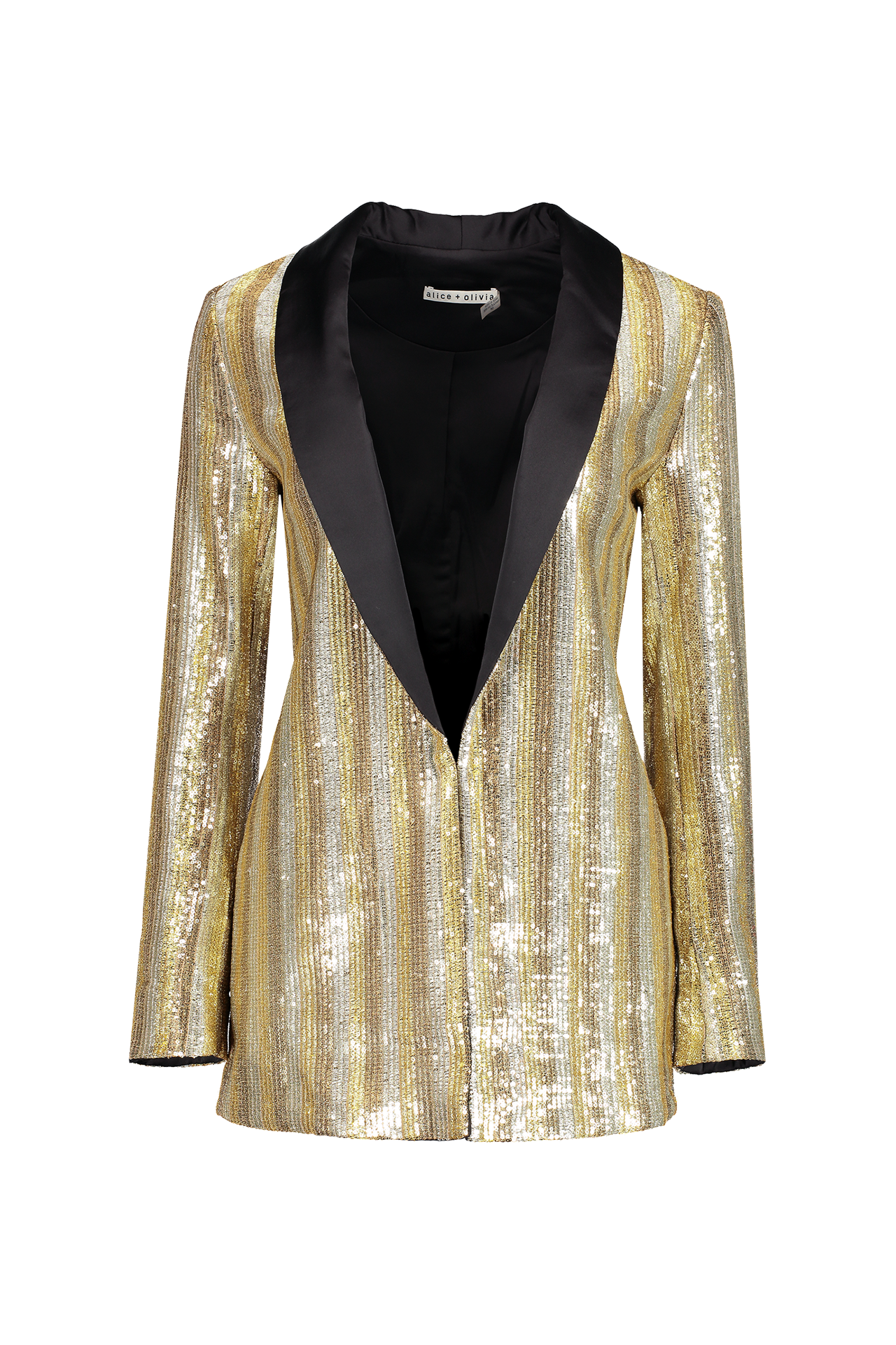 Jace Embellished Shawl Collar Oversized Blazer