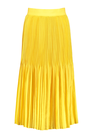 Alice & Olivia Front Image Ken Pleated Midi Skirt