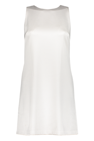Front image of Alice & Olivia Lita Cowl Back Shift Dress