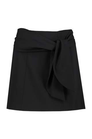 Front Image Of Alice & Olivia Mayson Tie Belt Mini Skirt