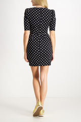Short Sleeve Judy Ruched Dress