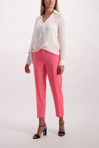 Full Body Image Of Model Wearing Stacey Slim Ankle Pant