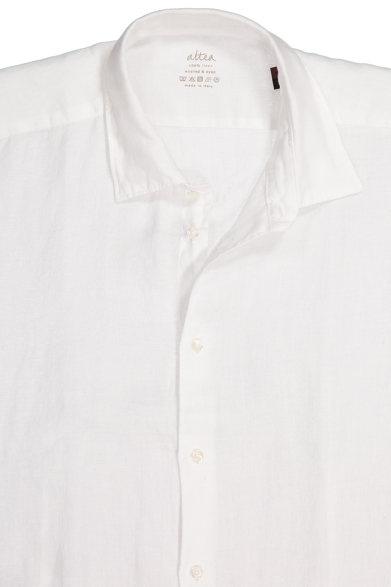 Linen Garment Dyed Shirt