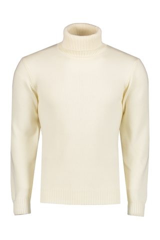 Front image of Altea Merino Turtleneck Panna