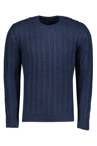 Front image of Altea Wool Crew Blend Sweater