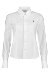 Front view image of AMI Women's Long Sleeve Ami Shirt