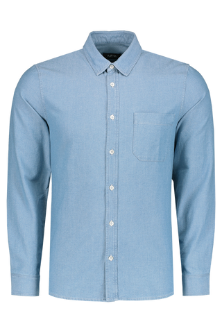 Front Image Chemise Georges Long Sleeve Woven