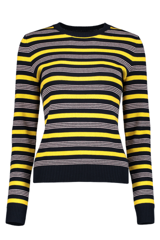 Isla Sweater Cotton Melange Raye