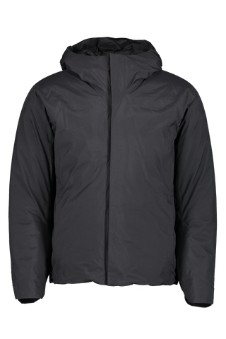 Anneal Black Down Jacket Black