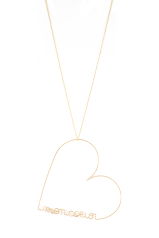 Mon Coeur Heart Necklace