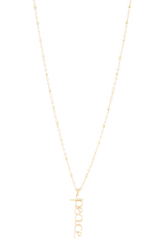 Front image of Atelier Paulin Peace Necklace