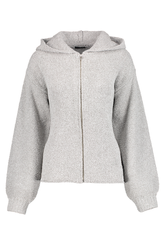 Front image of ATM Chenille Zip Up Hoodie